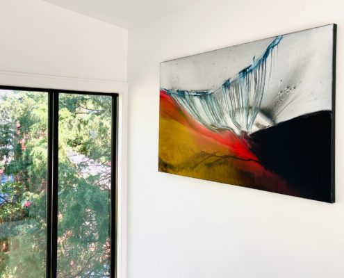 Washington, D.C. Contemporary Residence - Reading Room 3 - Featured Artwork