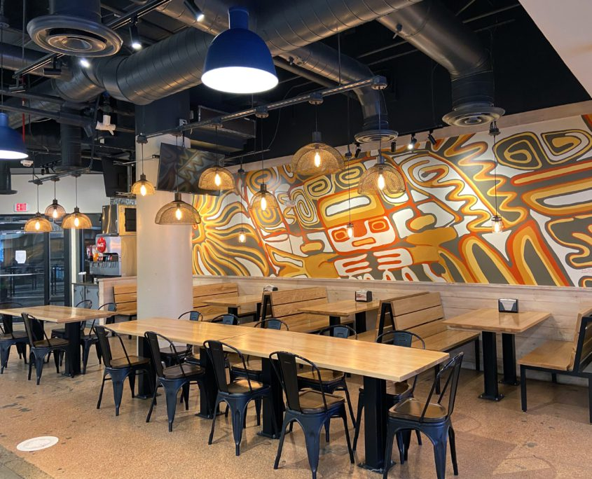 Don Pollo - Silver Spring, MD - Front Seating Area